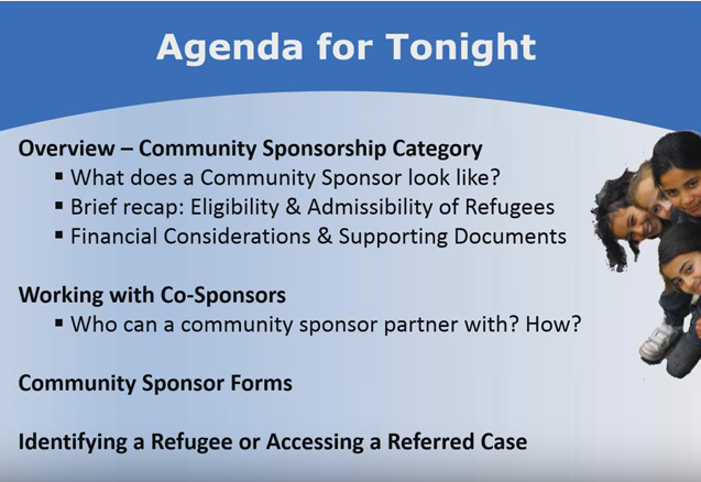 Becoming a Community Sponsor Webinar