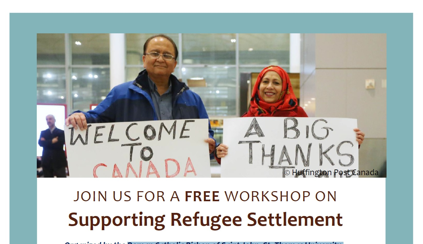 Supporting Refugee Settlement - Fredericton NB