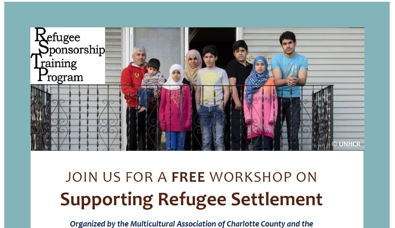 Supporting Refugee Settlement - St Stephen NB