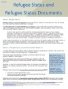 Refugee Status & Refugee Status Documents (May 2017)