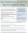 FAQ - Amendment to Age of Dependency (French)