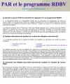 RAP & BVOR FAQ (French)