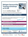 Refugee Sponsorship Training Workshops at IS-GW (18-8-17)